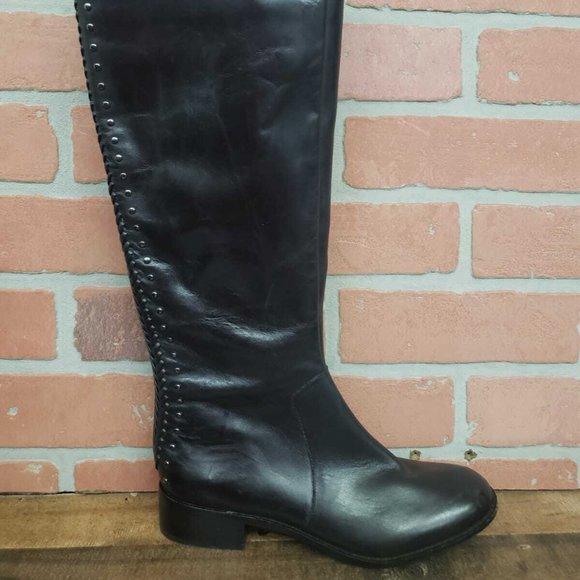 Wide Calf Black Riding Boots   Poshmark